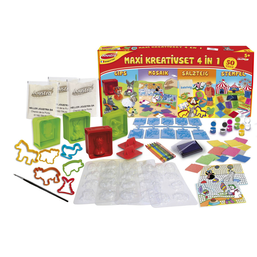 Joustra Kreativset 4 in 1 1748055