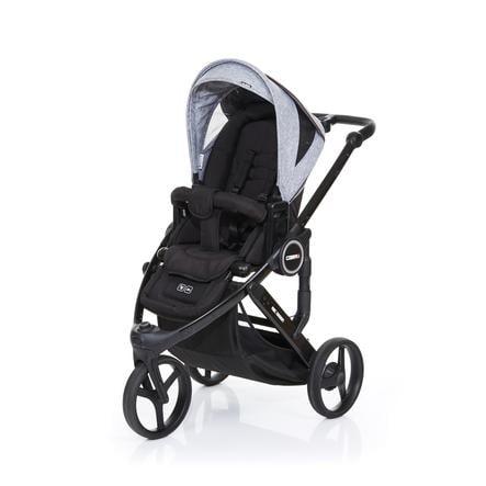 ABC DESIGN Kinderwagen Cobra plus black-graphite grey, frame black / zitting black