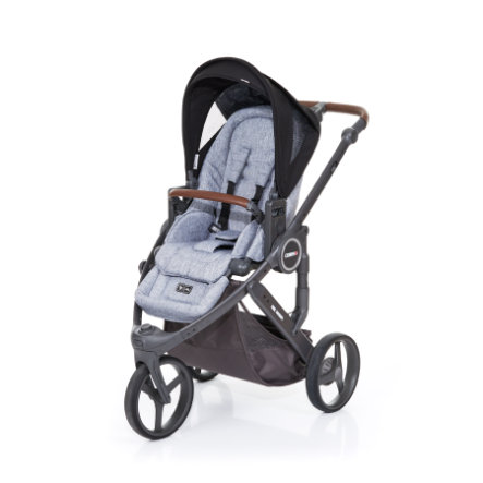 ABC DESIGN Barnvagn Cobra plus graphite grey-black