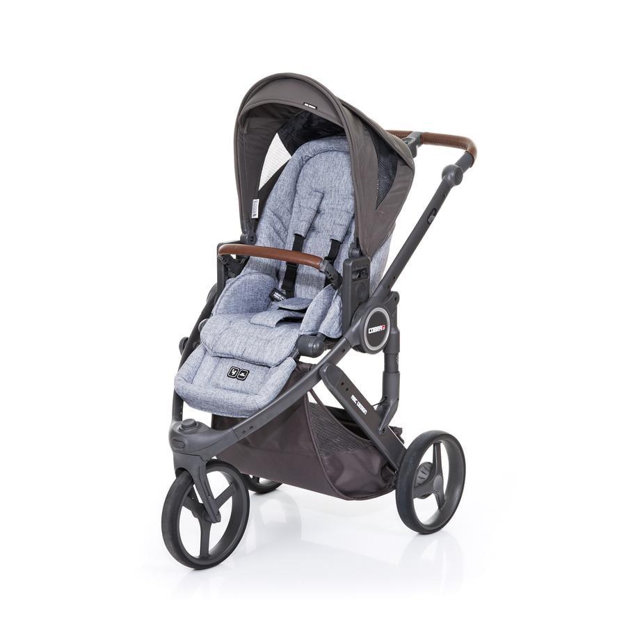 ABC DESIGN Kinderwagen Cobra plus graphite grey-cloud, Gestell cloud / Sitz graphite grey