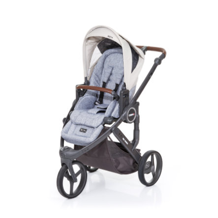 ABC DESIGN Kinderwagen Cobra plus graphite grey-sheep, Gestell cloud / Sitz graphite grey