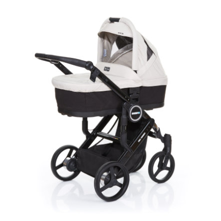 ABC DESIGN Kinderwagen Mamba plus black-sheep, frame black / zitting black