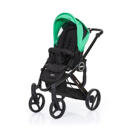 ABC DESIGN Kinderwagen Mamba plus black-grass, frame black / zitting black