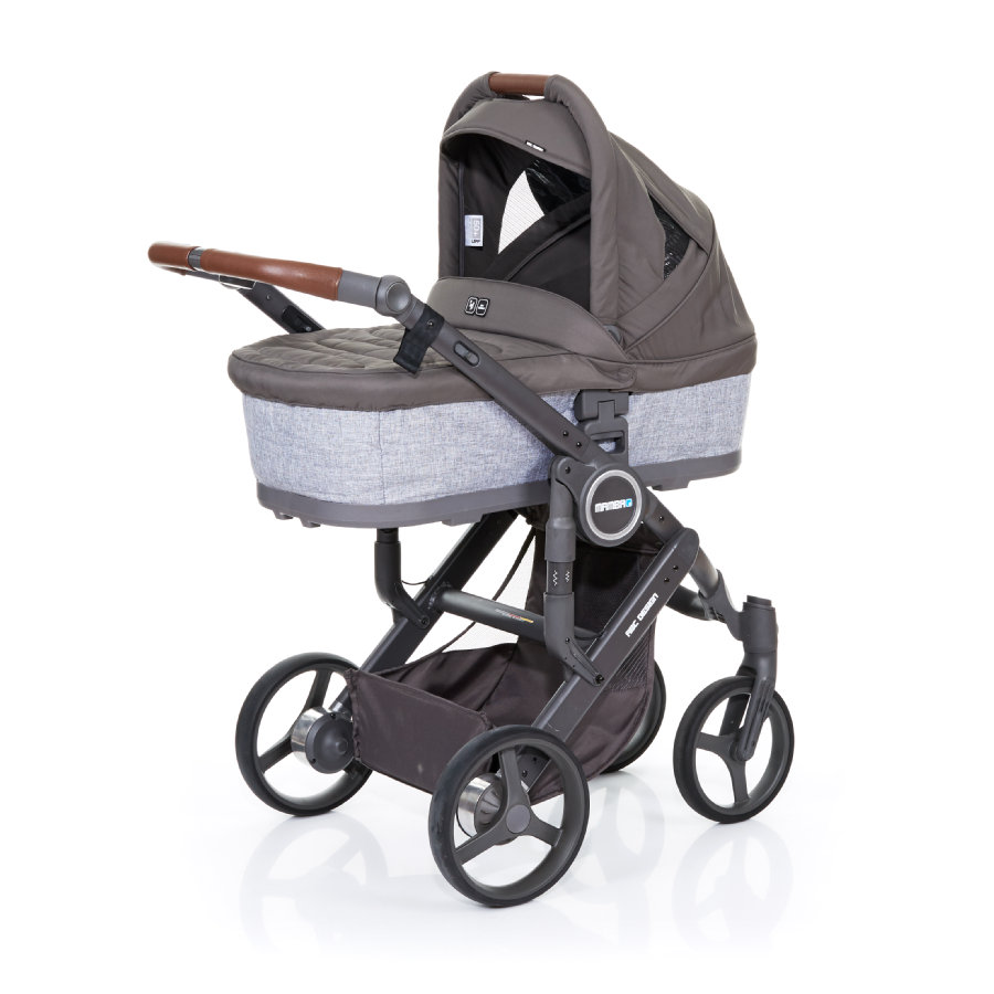 ABC DESIGN Passeggino Mamba plus graphite grey-cloud, telaio cloud / sedile graphite grey