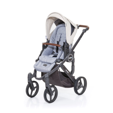 ABC DESIGN Kombikinderwagen Mamba plus graphite grey-sheep, Gestell cloud / Sitz graphite grey