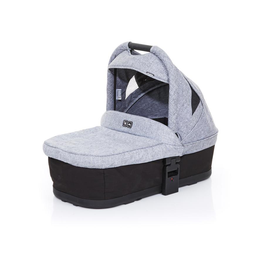 ABC DESIGN Přenosná korbička Plus black-graphite grey