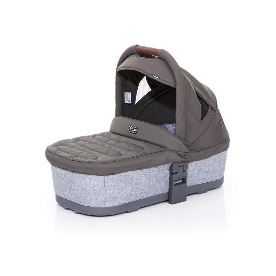 ABC DESIGN Nacelle de poussette Plus graphite grey-cloud