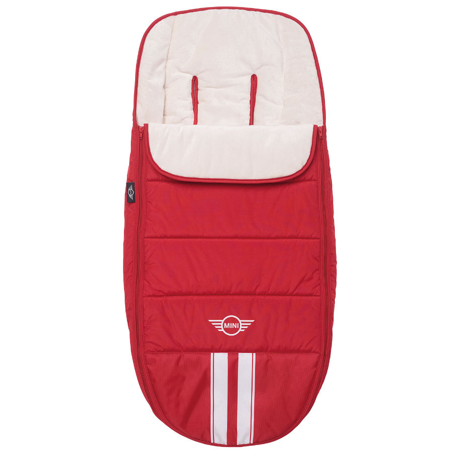 EASYWALKER Fußsack MINI Fireball Red