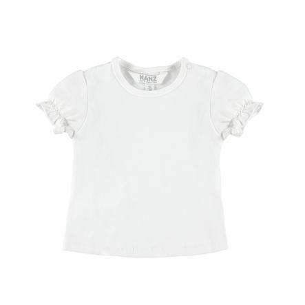 KANZ Girls Tričko jasně bílé