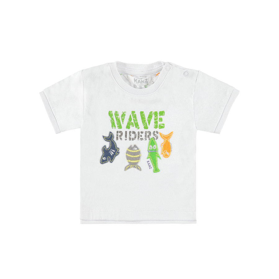 KANZ Boys T-Shirt bright white