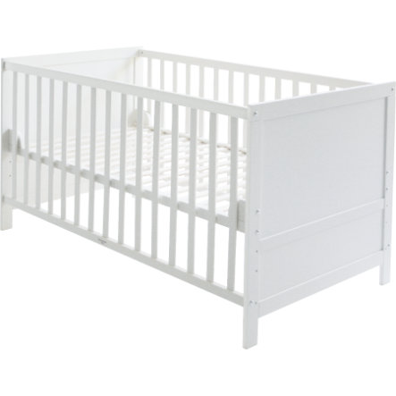 roba kombi kinderbett wei baby. Black Bedroom Furniture Sets. Home Design Ideas