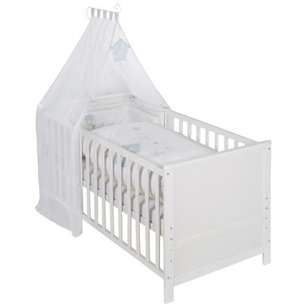 roba Set de lit bébé combiné Wiesenglück, blanc