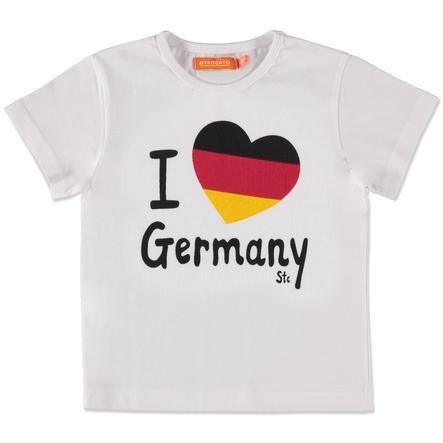 STACCATO Biała dziecinada T-Shirt Niemcy