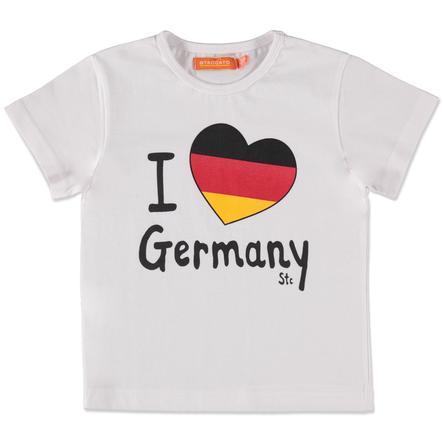 STACCATO T-shirt för flickor, vit