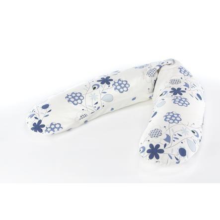 THERALINE Original Amningskudde Design Blommor blåvit (57)