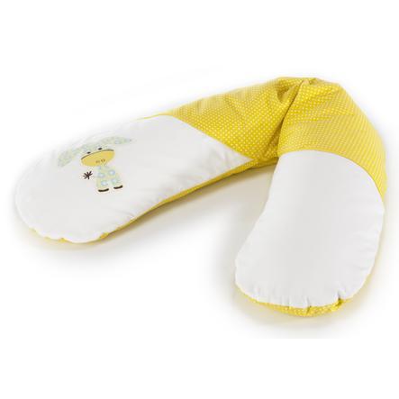 THERALINE Coussin d'allaitement Original Theraline Dessin 70 Âne Akacia jaune