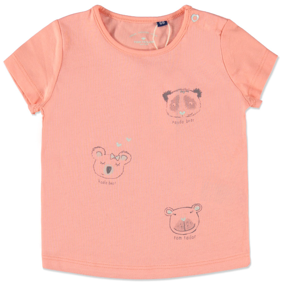 TOM TAILOR Girls T-Shirt koralle