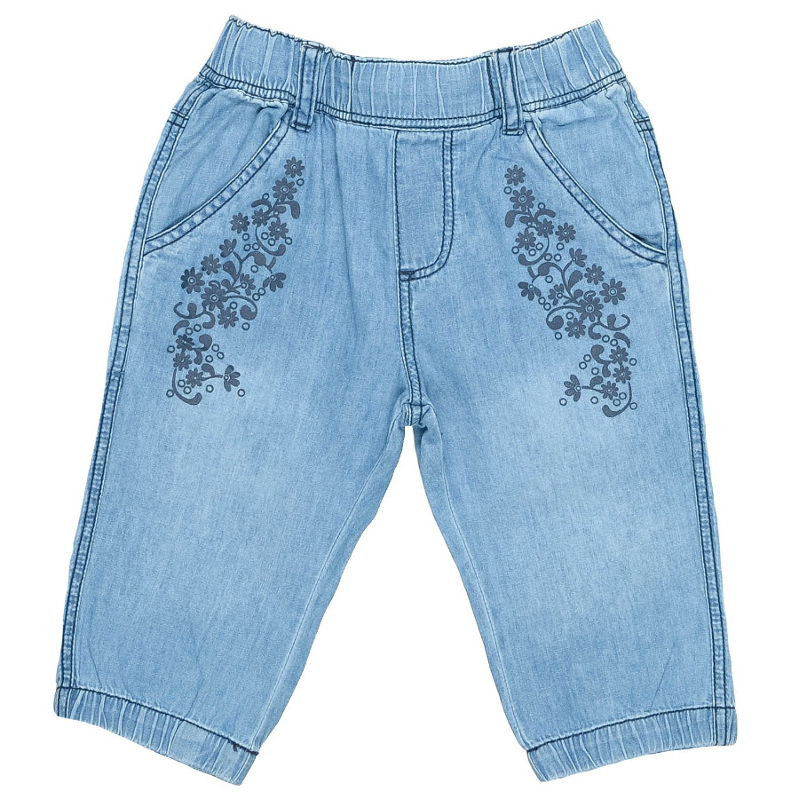 STACCATO Girls Mini Denim Capri blue denim