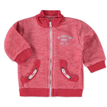 STACCATO Boys Baby Sweatjacke red melange