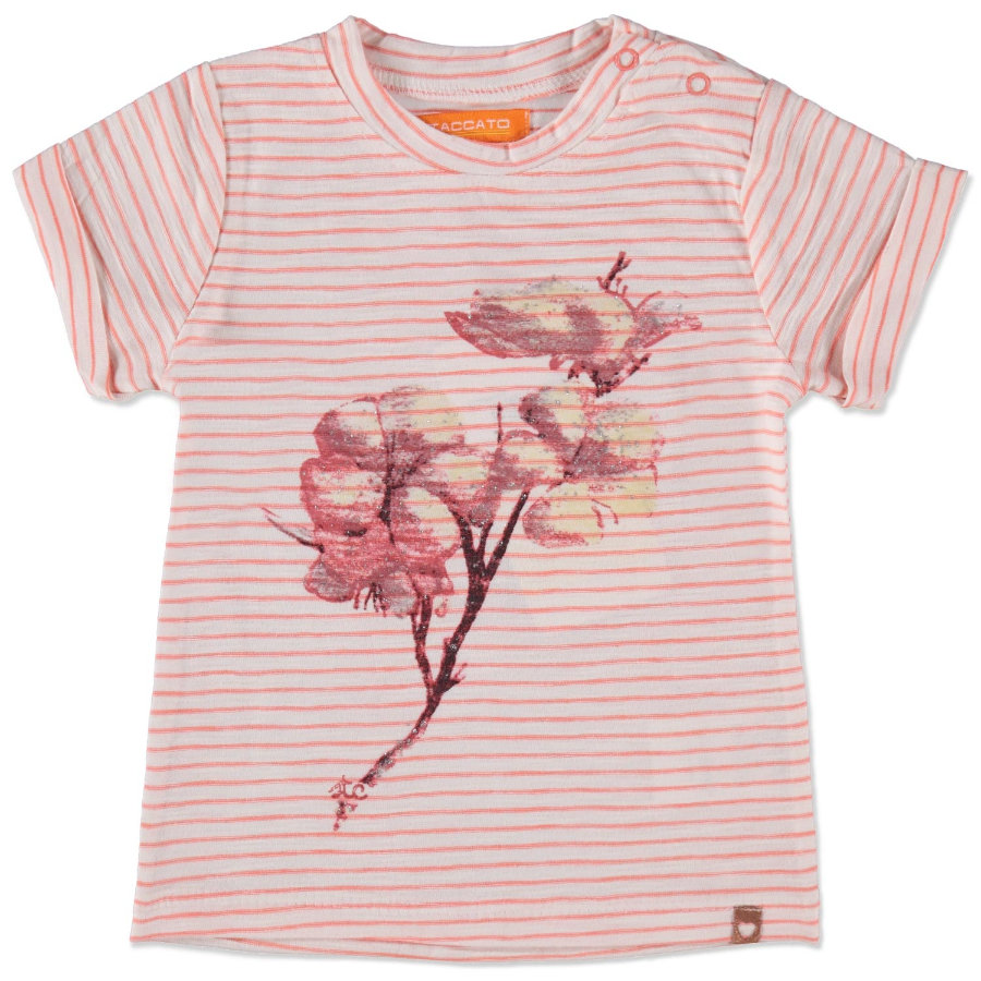 STACCATO Girls Baby Shirt papaya streifen