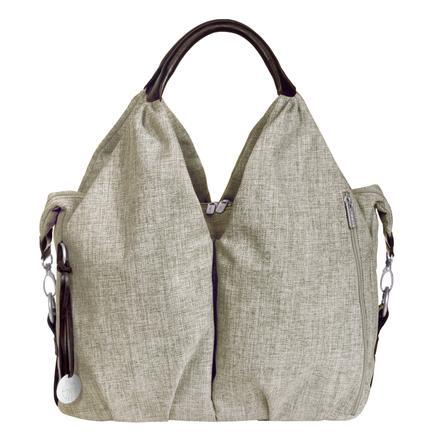 LÄSSIG Bolso Neckline Bag ''Green Label'', choco melange