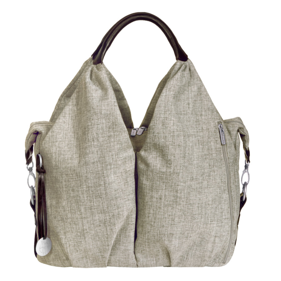 LÄSSIG Green Label Neckline Bag choco melange