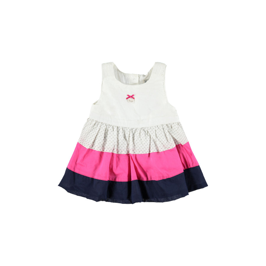 KANZ Girls Kleid bright white