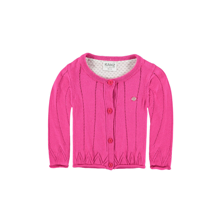 KANZ Girls Strickjacke magenta