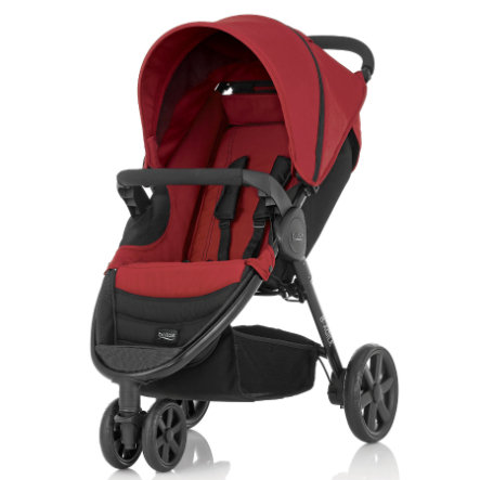 BRITAX Wózek spacerowy B-Agile 3 Chili Pepper/ Black Chassis