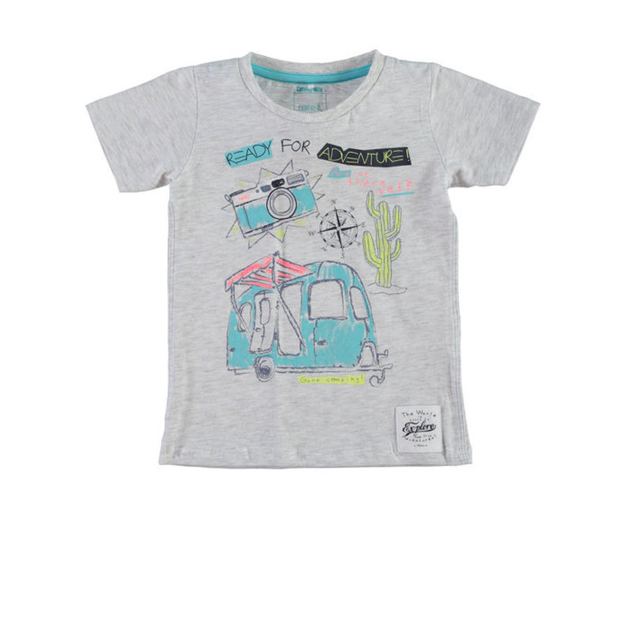 Name it Boys T-Shirt NITHEPEAT light grey melange