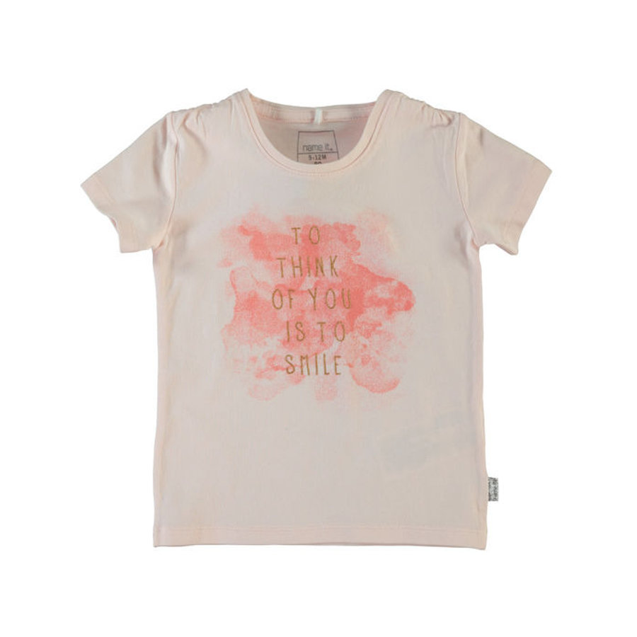 Name it Girls T-Shirt NITHILJE pearl