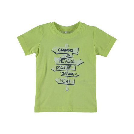 Name it Boys T-Shirt NITVICTOR sunny lime