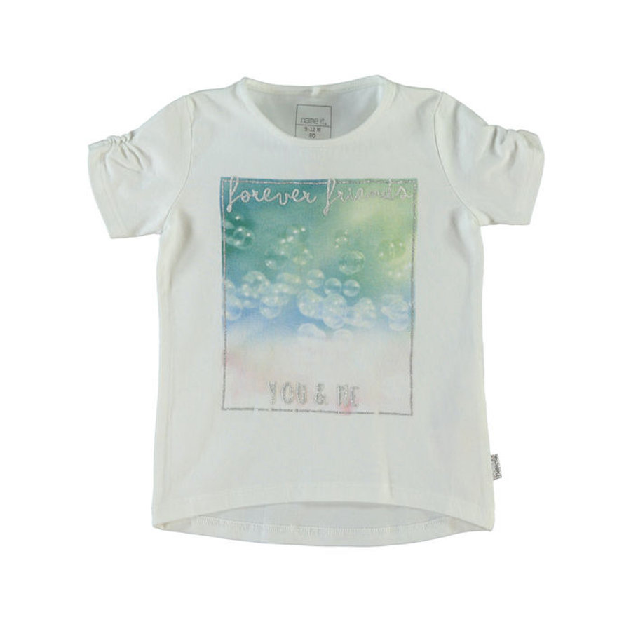 Name it Girls T-Shirt NITHINOLA bright white