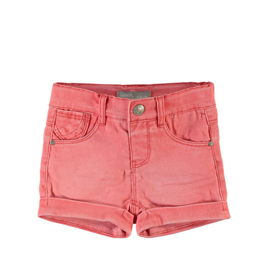 Name it Girls Szorty Jeans NITSIRIBELLE georgia peach