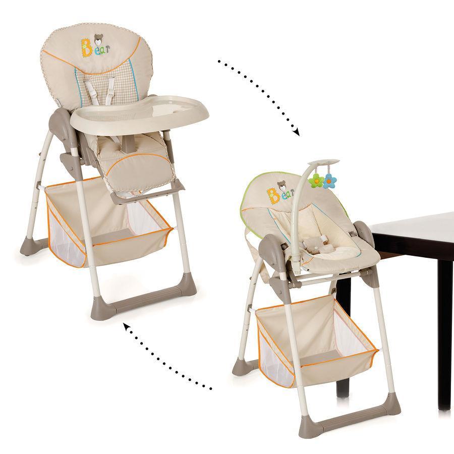 hauck Chaise haute Sit'n Relax Bear, modèle 2014/15