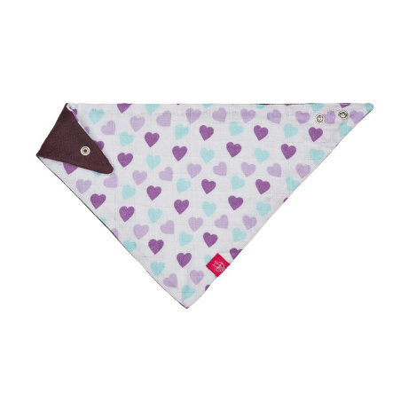LÄSSIG Bandana Muslin Royal Heart, fille