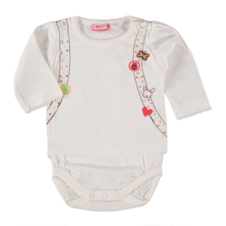 MAX COLLECTION Girls Langarmbody offwhite