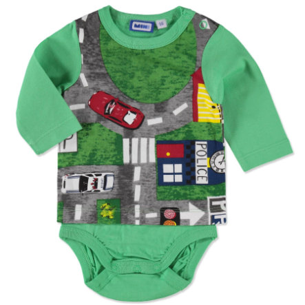 MAX COLLECTION Boys Langarmbody grün