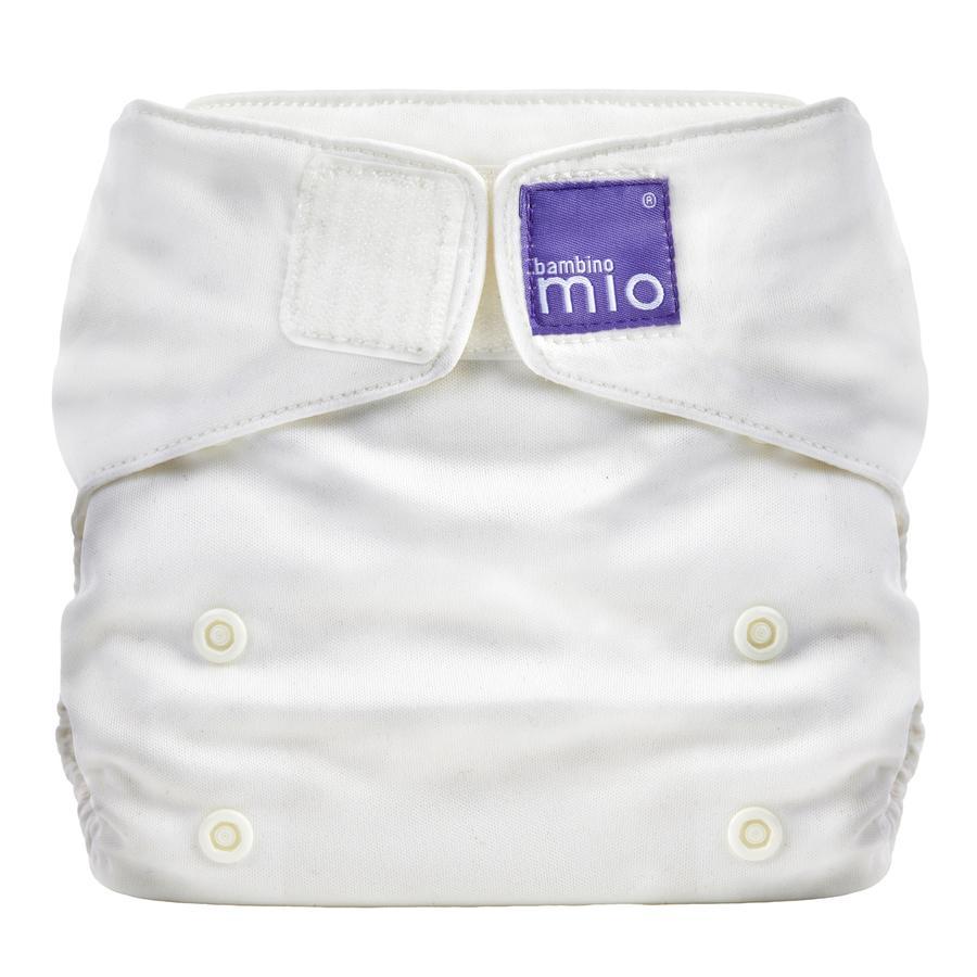 bambino mio Miosolo Tygblöja All-In-One Marshmallow, vit