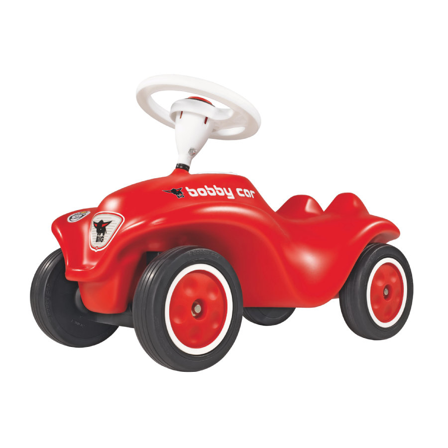 BIG New Bobby Car Red with Whisper Wheels
