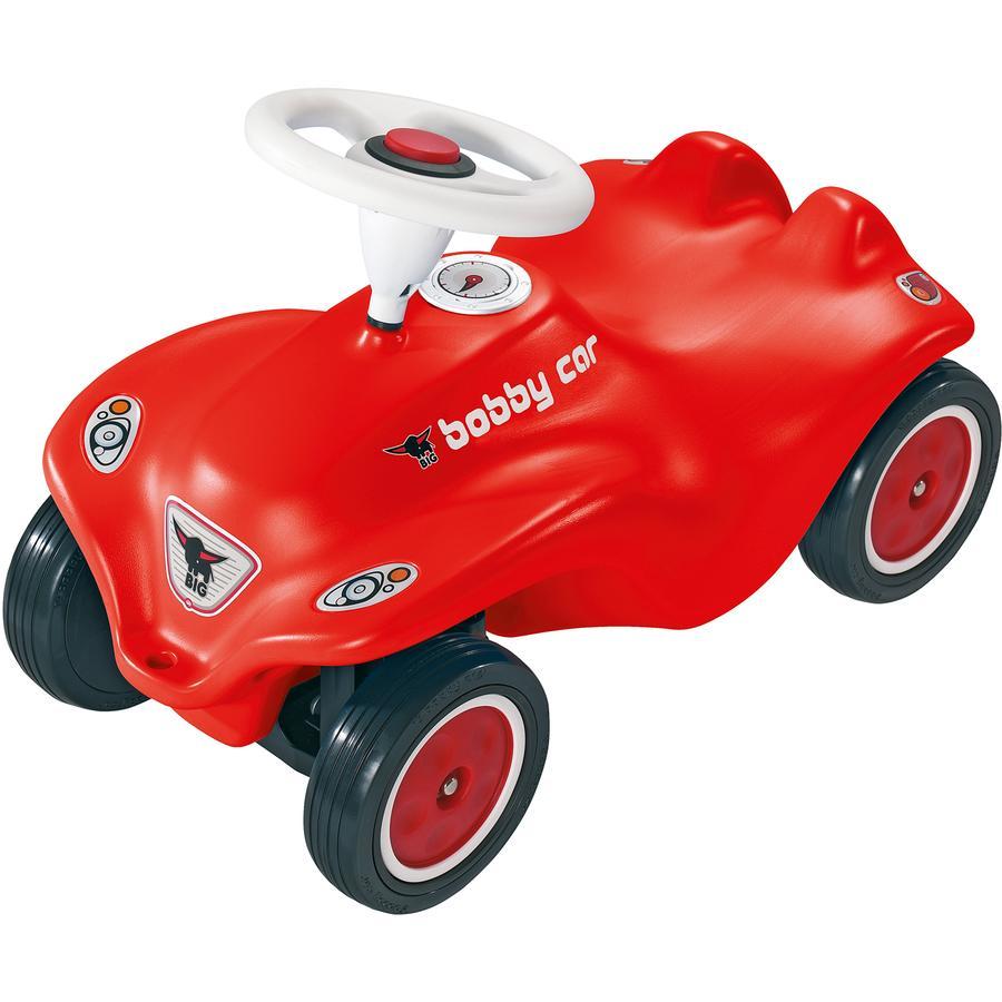 BIG New Bobby Car rosso con Ruote in gomma