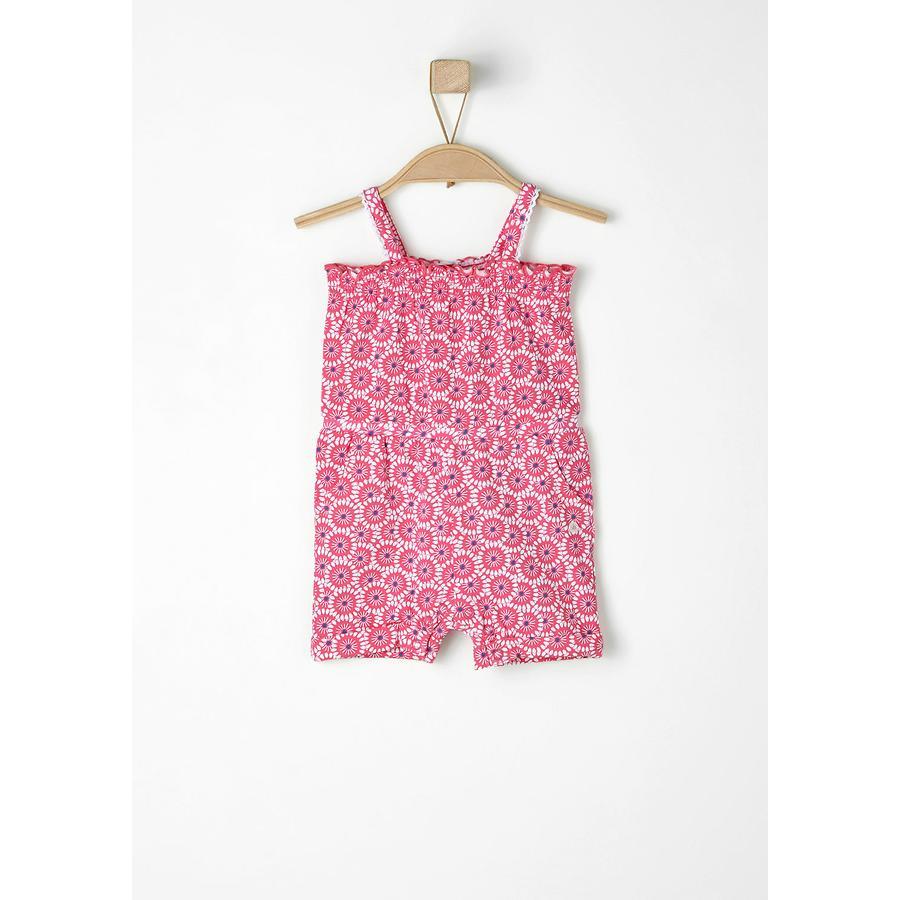 s.OLIVER Girls Žertejový Overal pink
