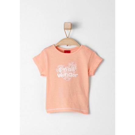 s.OLIVER Girls Tričko light orange