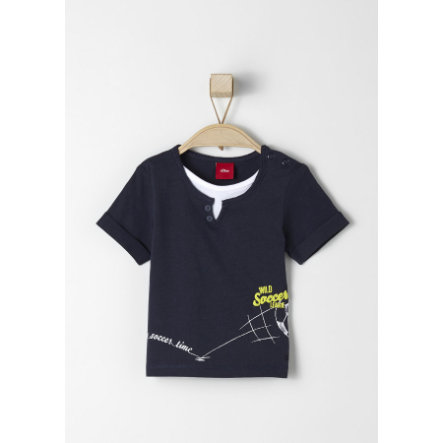 s.OLIVER Boys T-Shirt dark blue