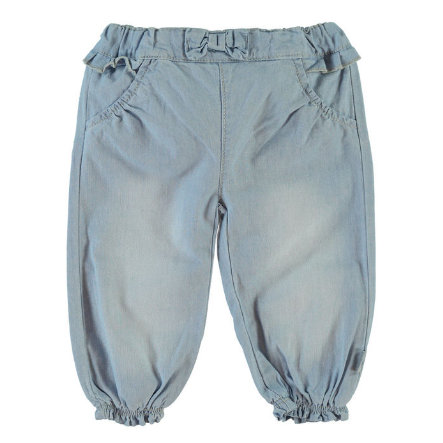 Name it Girls Spodnie Jeans NITHANNA light blue denim