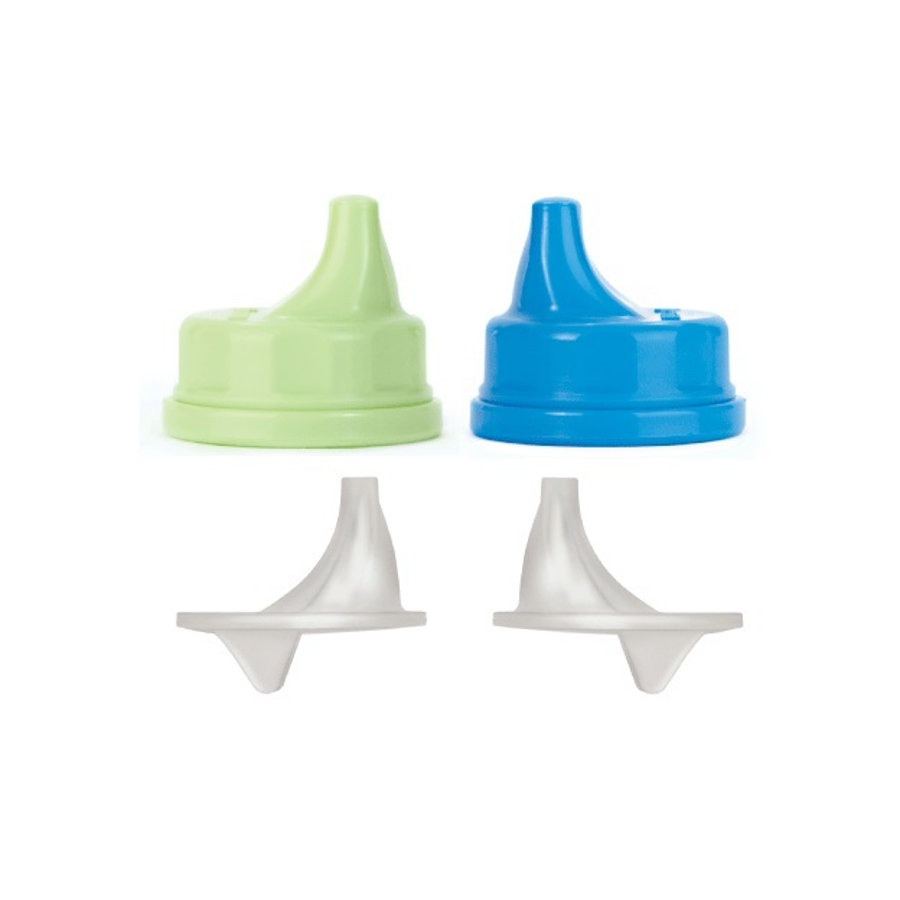 LIFEFACTORY Sippy Caps (ab 12 Monate) 2er Set