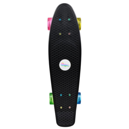 AUTHENTIC SPORTS Skateboard fun, neon
