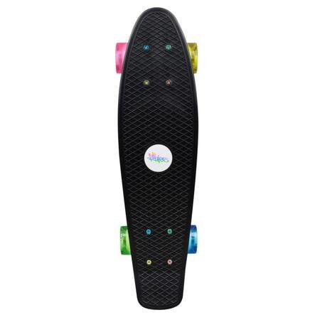AUTHENTIC SPORTS Skateboard fun NEON mit Leuchtrollen