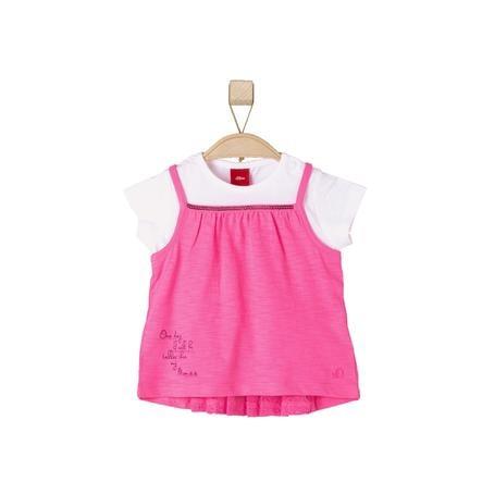 s.Oliver  Flickor T-shirt rosa