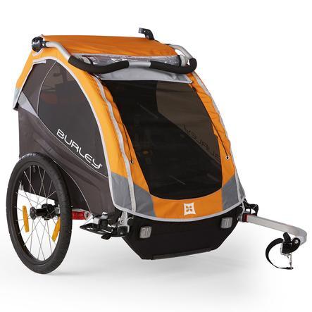 BURLEY Cykelvagn D´Lite orange
